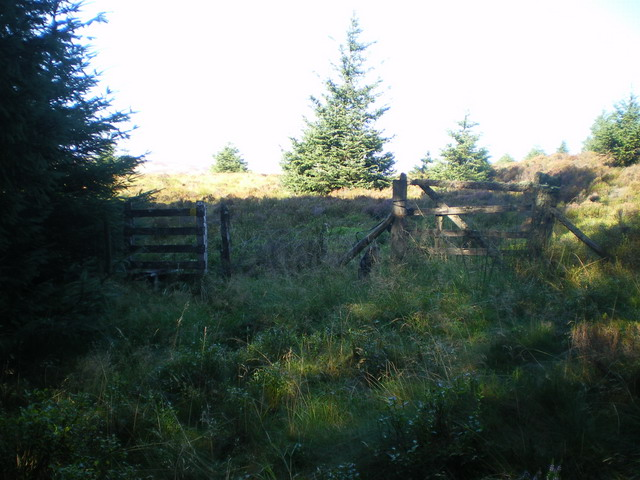 Old stile & gateway