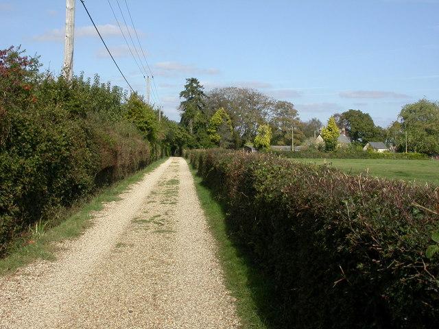 Tiptoe, footpath