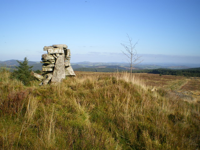 Cairn on the hillside