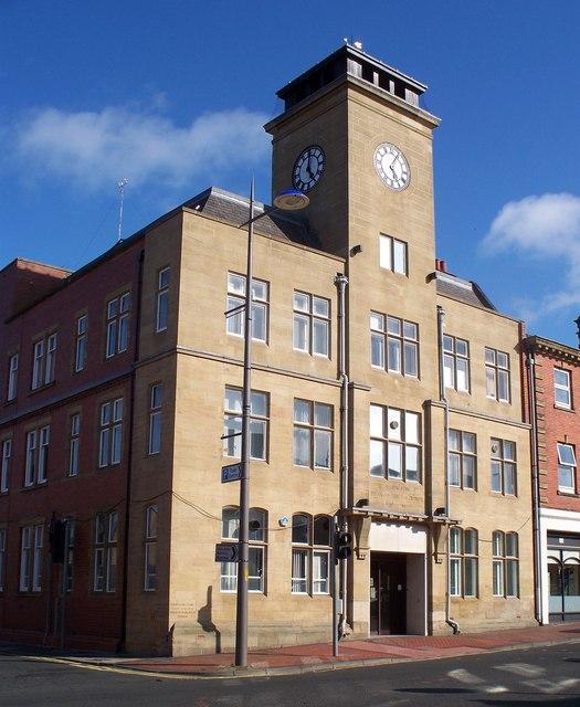 Ashington Town hall