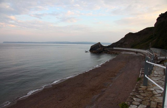 Meadfoot Beach in Torquay