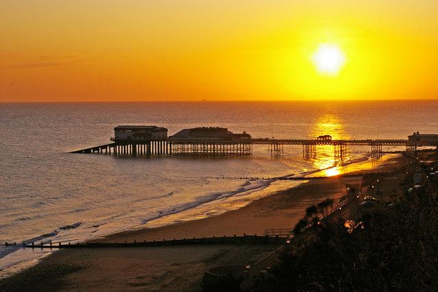 Cromer Pier at Sunrise