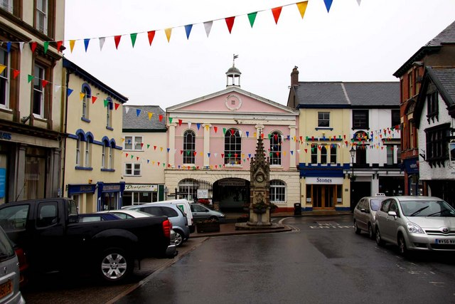 Great Torrington Pannier Market on South Street