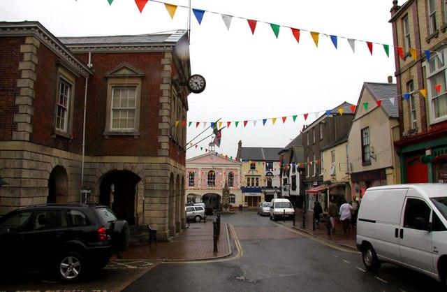 High Street in Great Torrington