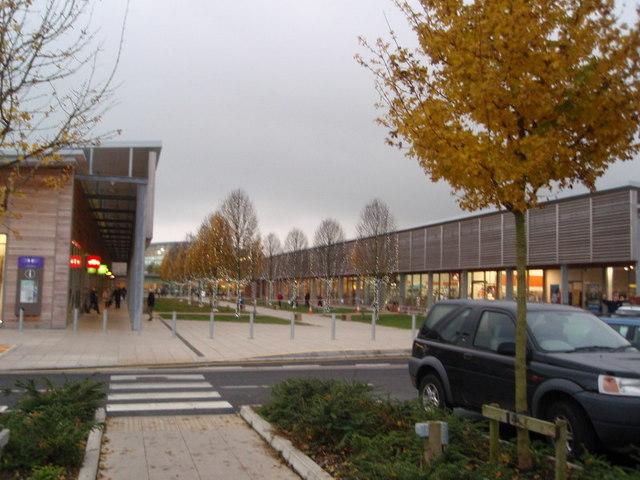 Shopping at Bicester Garden Centre
