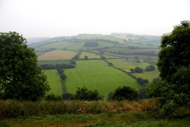 Looking across the Torridge Valley