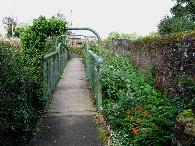 Wetheral Footbridge