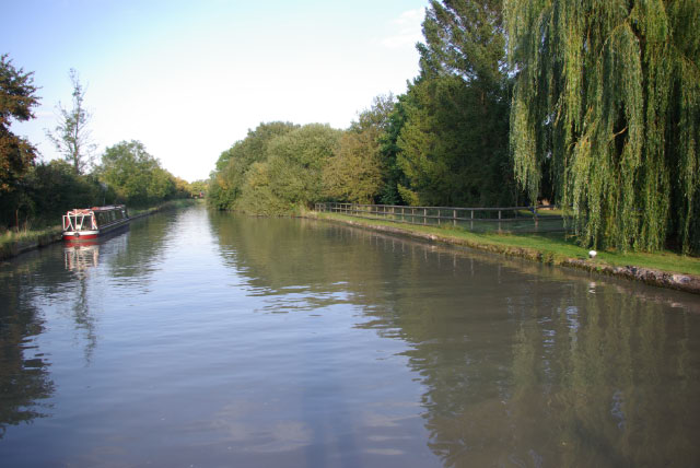Grand Union Canal above Welsh Road Lock
