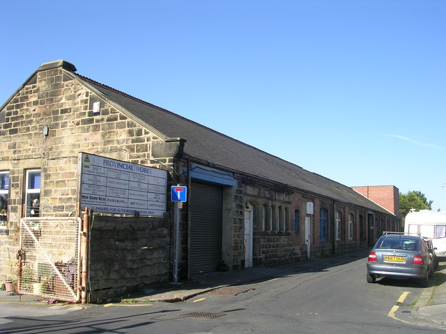 Former Provincial Laundries Ltd - Laundry Street