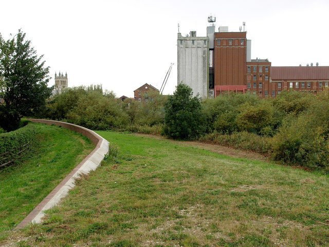The Ouse River Bank