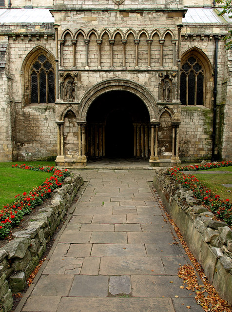 Selby Abbey's North West Door