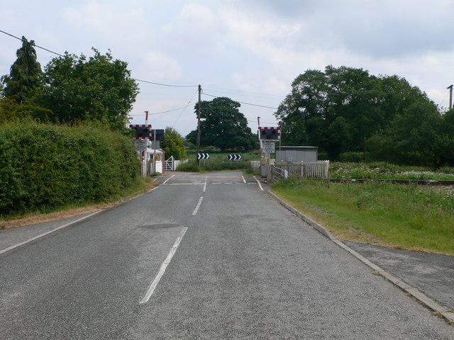 Broadoak Level Crossing