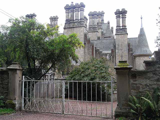 A fine array of chimneys - Duke's House