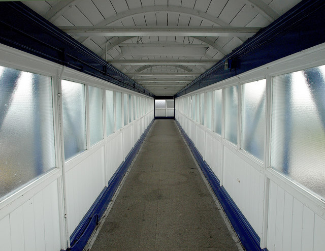 Selby Station's Footbridge