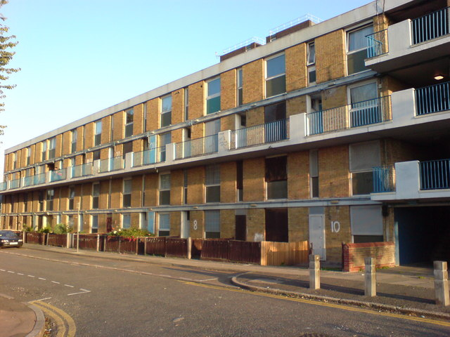 Flats on Clarkson Road, E16