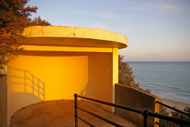 Shelter on access to Beach, Cromer, Norfolk