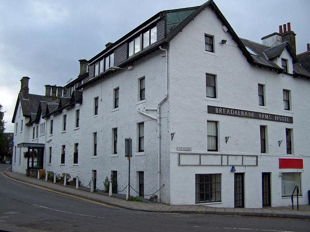 Breadalbane Arms Hotel, Aberfeldy