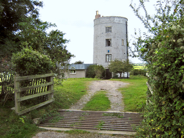 The old mill on Walton Hill