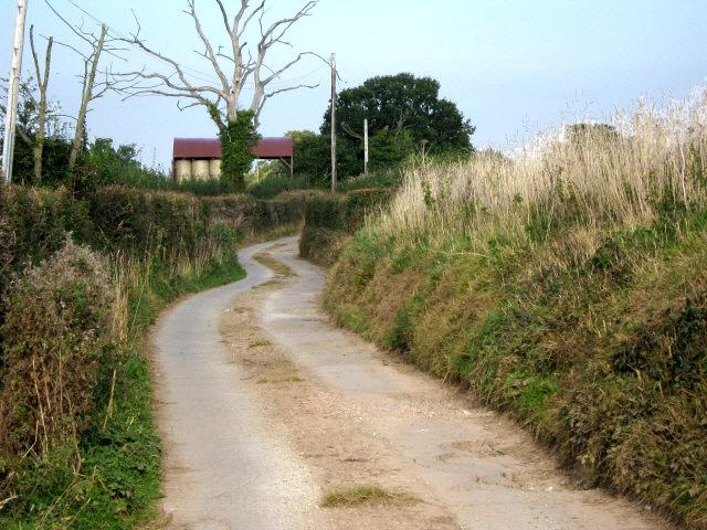 Track from Oakenford Farm, Goathurst