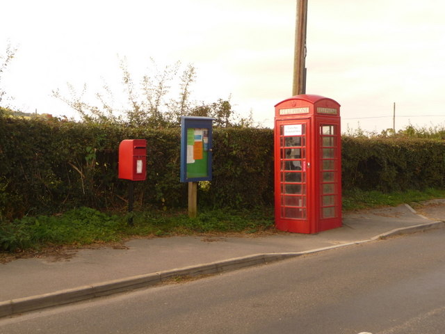 Cann Common: postbox № SP7 19 and phone