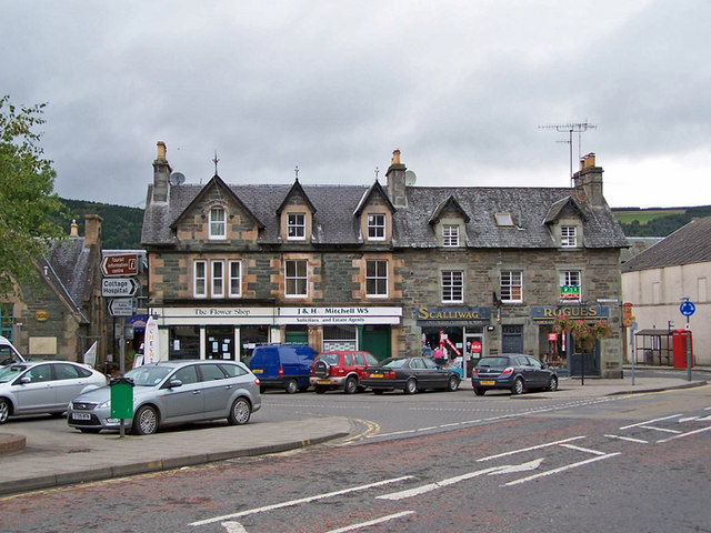 The Square, Aberfeldy