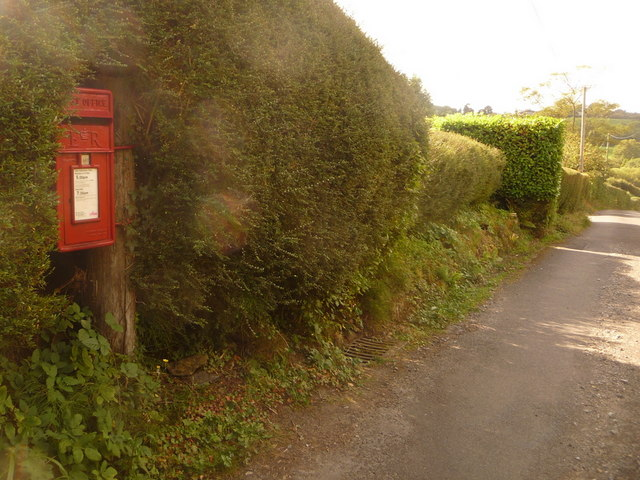 Cann: postbox № SP7 38, Foots Hill