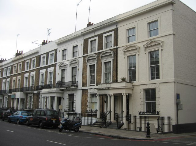 Town houses - Holland Road
