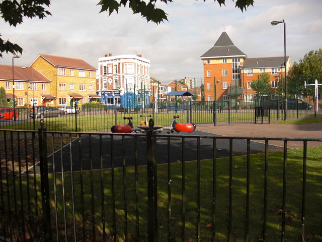 Bramcote Grove Playground, Rotherhithe, London, SE16