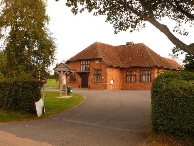 Motcombe: the Memorial Hall