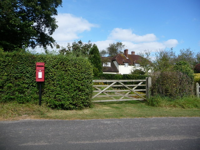 Stour Row: postbox № SP7 35