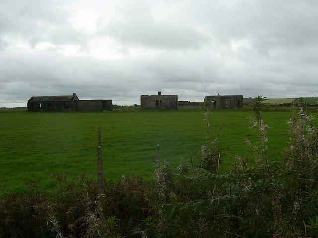 World Ward II Chain Home Radar Station, Remains of RAF Hayscastle Cross