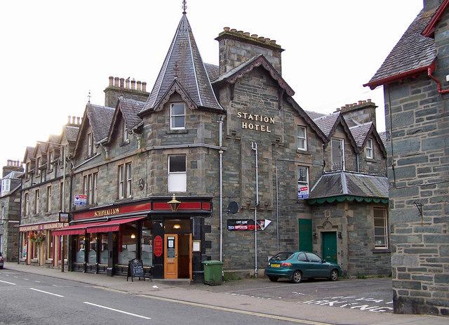 Station Hotel, Aberfeldy