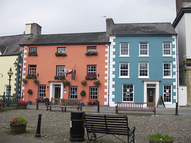 Georgian properties, Llandovery