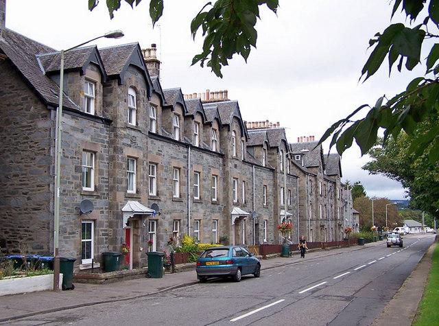 Breadalbane Terrace, Aberfeldy
