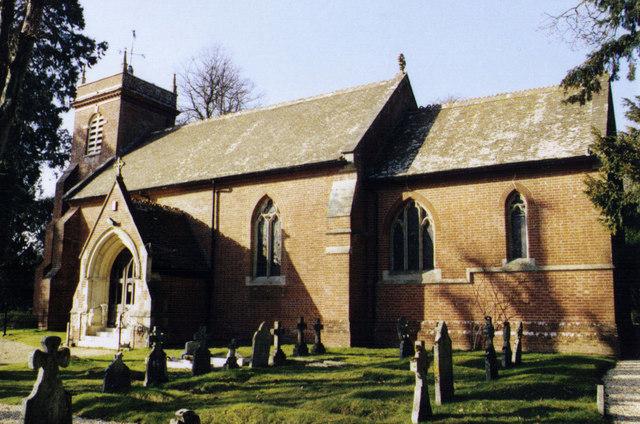 St Michael & All Angels, Hinton