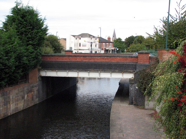 Nottingham Canal Bridge 1d