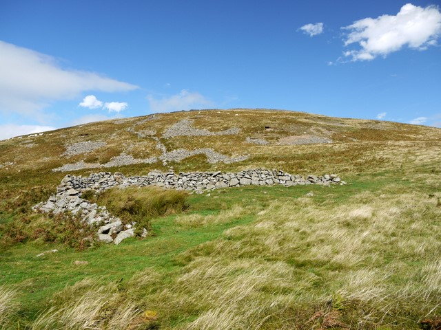 Sheepfold south of Yeavering Bell