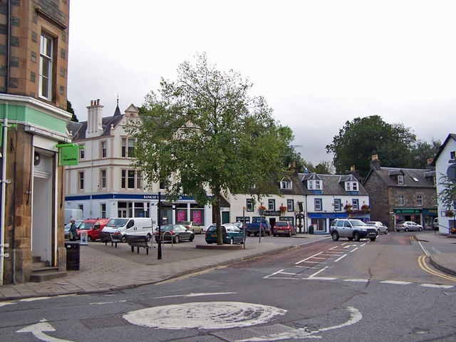 The Square, Aberfeldy