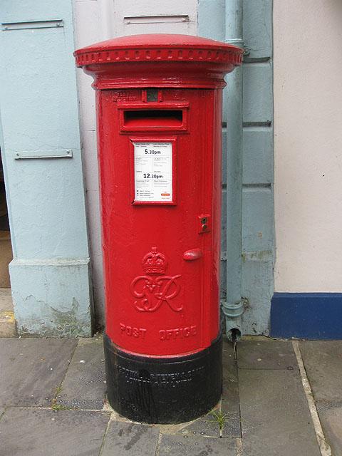 George VI postbox, Llandovery