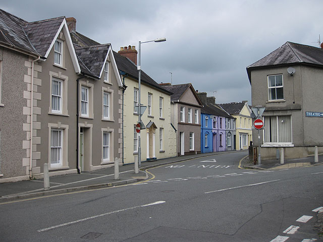 Junction of Maesglas and Stone Street