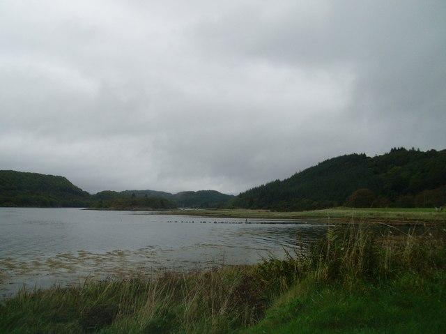 Loch Sween from opposite Kilbryd