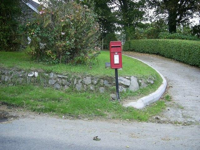 Post box, Llangloffan