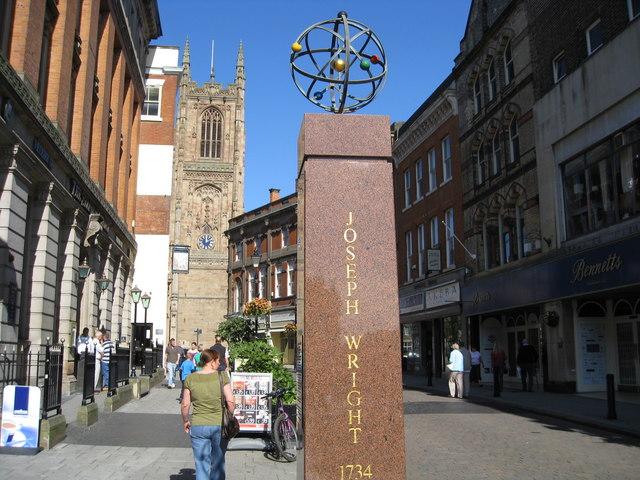Monument to Joseph Wright