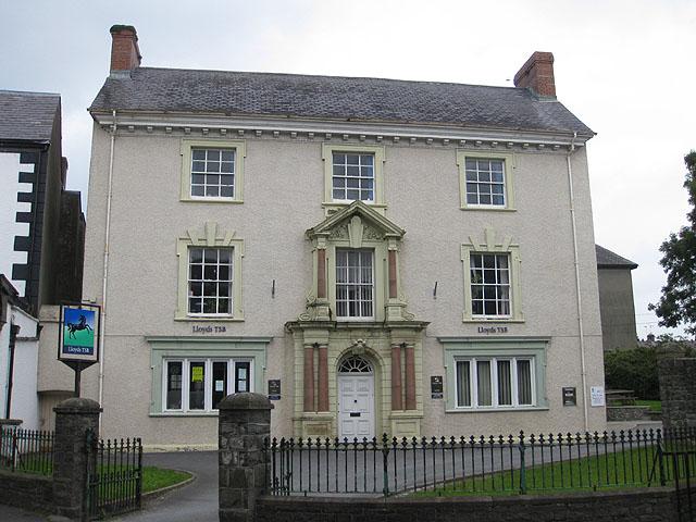 High street bank, Llandovery