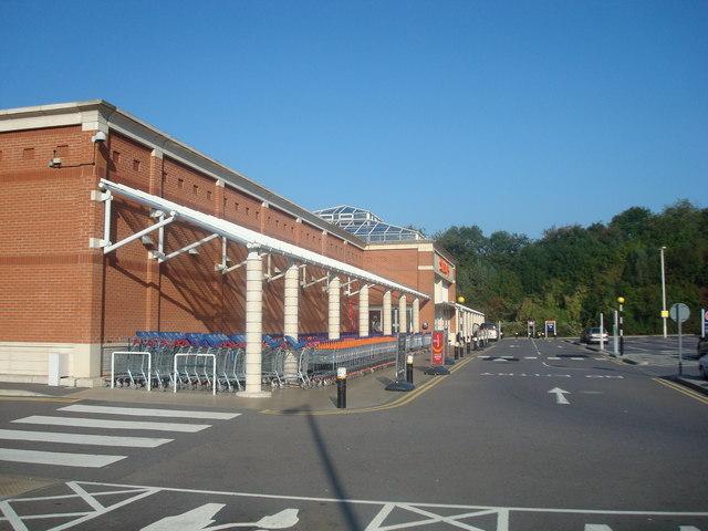 Supermarket, St Leonards on Sea