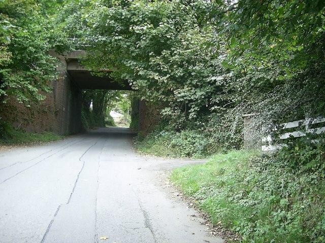 Railway bridge at Welsh Hook
