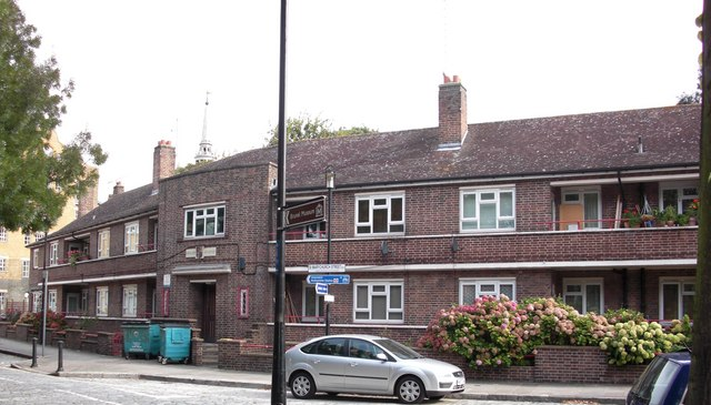 Henley Close, St Marychurch Street, Rotherhithe, London, SE16