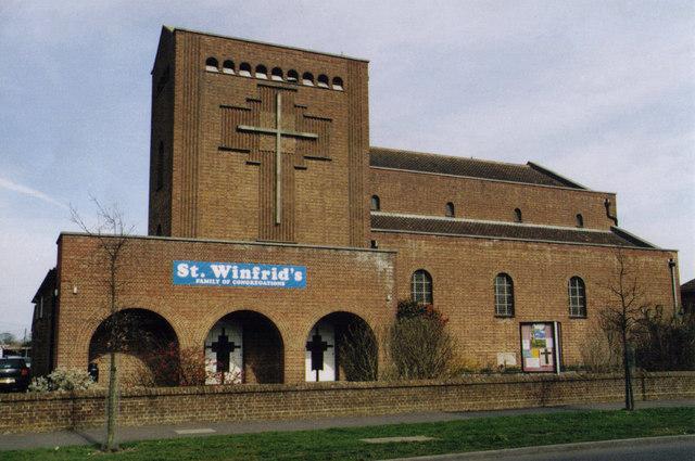 St Winfrid, Testwood