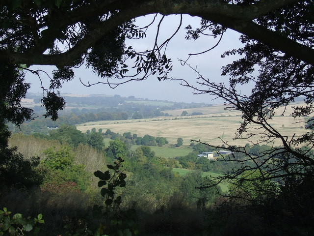 Looking across the Churn Valley towards Seven Springs