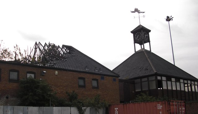 Ex Fisher Football club house, Salter Road, Rotherhithe, London, SE16